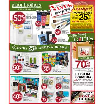 Aaron Brothers Coupons in North Richland Hills