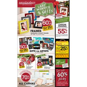 Aaron Brothers Coupons in Simi Valley
